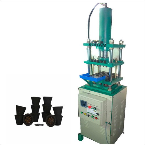 25 Cavities Sambrani Cup Dhoop Making Machine