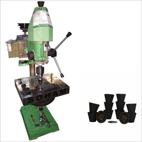 Single Cavity Sambrani Cup Dhoop Making Machine