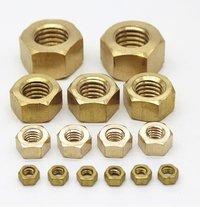 brass quality hex nut