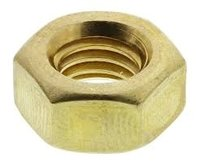 Brass Hex Nut M8