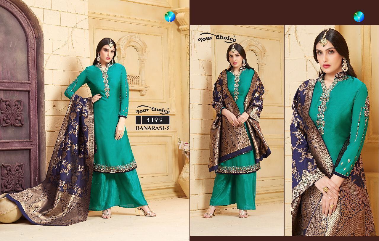 Banarasi Dress Georgette