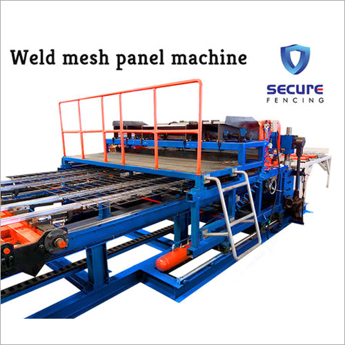 3-6mm Welded Mesh Panel Machine