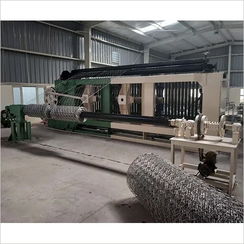 Hexagonal Gabion Wire Mesh Machine