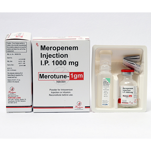 Merotune-1gm Injection