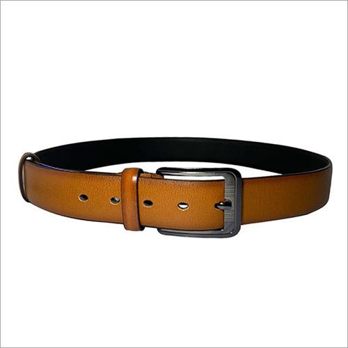 Formal Tan Leather Belt
