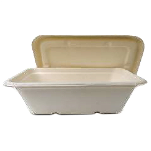 650 ML Bagasse Meal Box