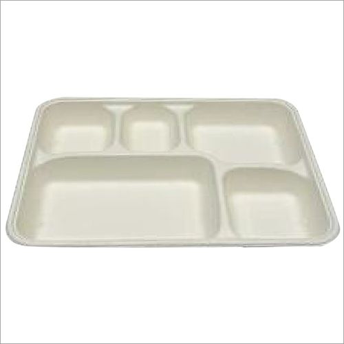 5 CP Bagasse Meal Tray