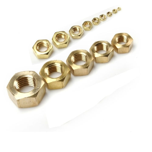 Brass hex nut all size