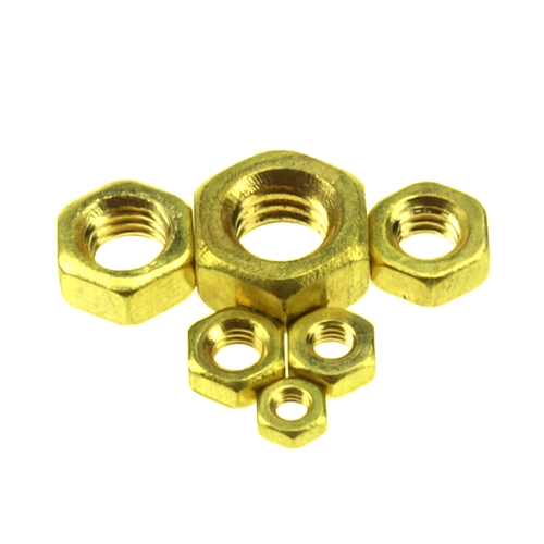brass hex nut M3