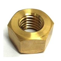 Hexagonal Brass Hex Nut