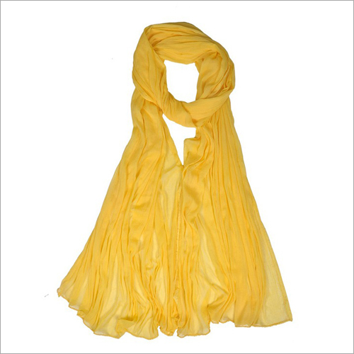 Ladies Yellow Dupatta