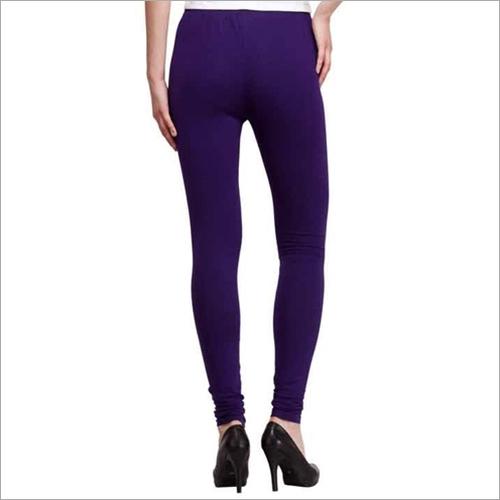 Ladies Purple Leggings