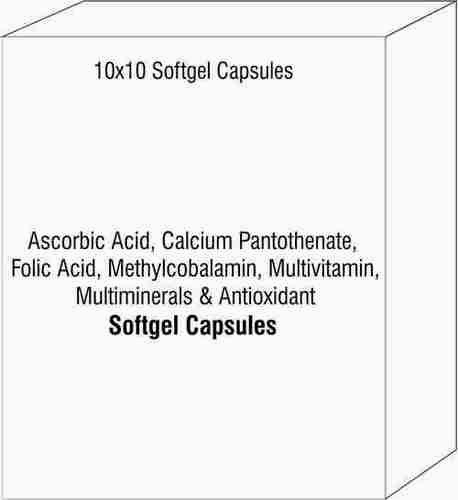 Ascorbic Acid Calcium Pantothenate Folic Acid Methylcobalamin Multivitamin Multiminerals & Antioxida