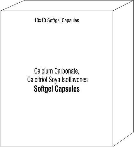 Calcium Carbonate Calcitriol Soya Isoflavones Vitamin K2-7 Zinc Magnesium Oxide Soft Gelatin Capsule