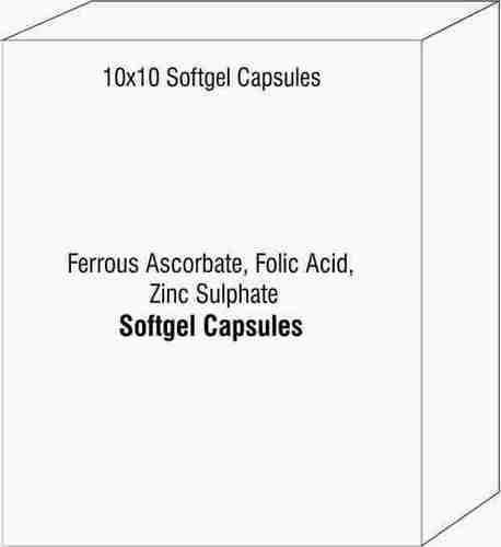 Ferrous Ascorbate, Folic Acid, Zinc Sulphate