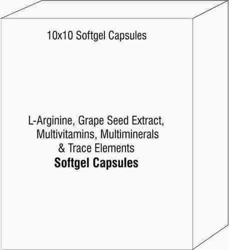 L-Arginine Grape Seed Extract Multivitamins Multiminerals & Trace Elements