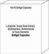L-Arginine Grape Seed Extract Multivitamins Multiminerals & Trace Elements