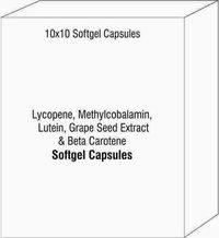 Lycopene Methylcobalamin Lutein Grape Seed Extract & Beta Carotene