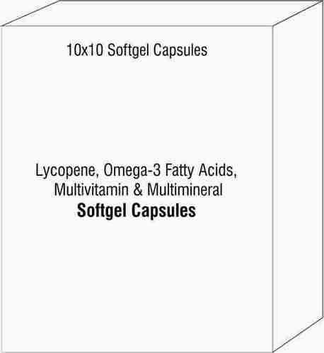 Lycopene Omega-3 Fatty Acids Multivitamin & Multimineral
