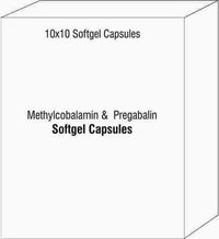 Methylcobalamin And Amp Pregabalin Soft Gel Capsules