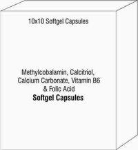Methylcobalamin Calcitriol Calcium Carbonate Vitamin B6 & Folic Acid