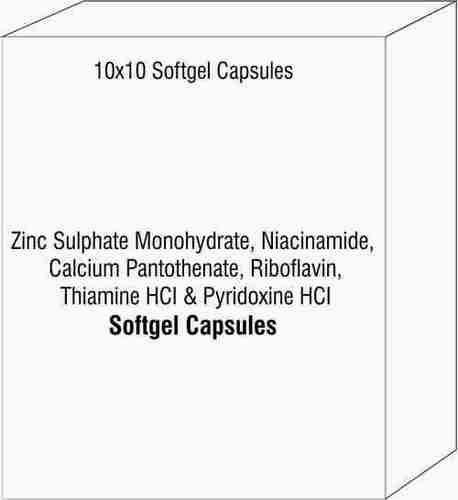 Zinc Sulphate Monohydrate Niacinamide Calcium Pantothenate Riboflavin Thiamine HCI Pyridoxine HCI