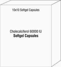 Cholecalcifero Softgel capsules
