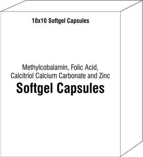 Methylcobalamin Folic Acid Calcitriol Calcium Carbonate and Zinc