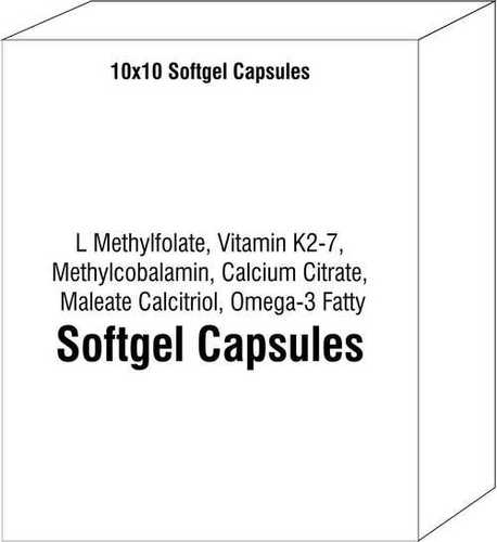 L Methylfolate Vitamin K2-7 Methylcobalamin Calcium Citrate Maleate Calcitriol Omega-3 Fatty Acids