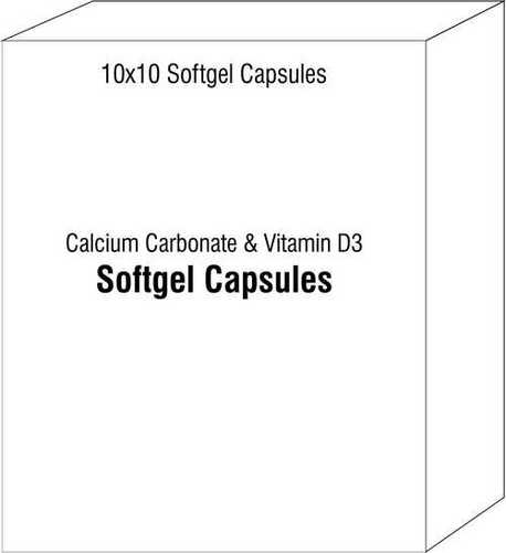 Nutraceutical Softgels