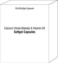 Calcium Citrate Maleate and Vitamin D3