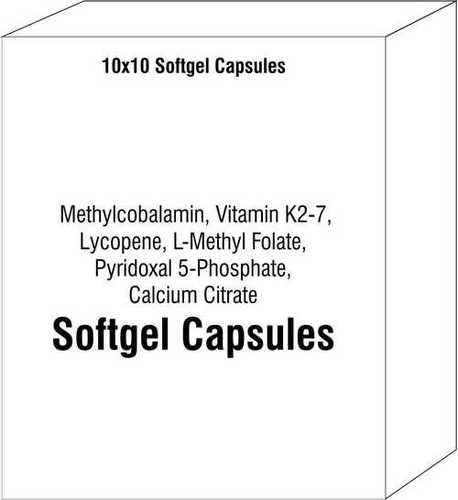 Methylcobalamin Vitamin K2-7 Lycopene L-Methyl Folate Pyridoxal 5 - Phosphate Calcium Citrate