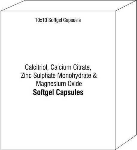 Calcitriol Calcium Citrate Zinc Sulphate Monohydrate and Magnesium Oxide