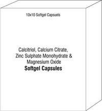 Calcitriol Calcium Citrate Zinc Sulphate Monohydrate and Magnesium Oxide