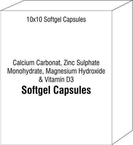 Calcium Carbonate Zinc Sulphate Monohydrate Magnesium Hydroxide and Vitamin D3