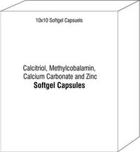 Calcitriol Methylcobalamin Calcium Carbonate and Zinc