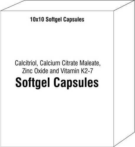 Calcitriol Calcium Citrate Maleate Zinc Oxide and Vitamin K2-7