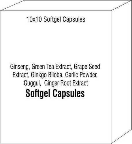 Ginseng Green Tea Extract Grape Seed Extract Ginkgo Biloba Garlic Powder Guggul Ginger Root Extract