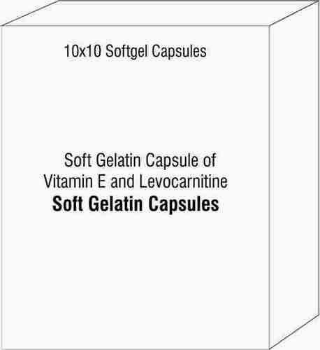 Soft Gelatin Capsule of Vitamin E and Levocarnitine