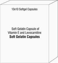 Soft Gelatin Capsule of Vitamin E and Levocarnitine