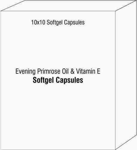 Evening Primrose Oil and Vitamin E Softgel Capsules