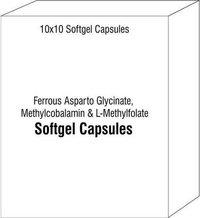 Ferrous Asparto Glycinate Methylcobalamin & L-Methylfolate Softules