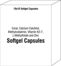 Coral Calcium Calcitriol Methylcobalmin VItamin K2-7 L-Methylfolate and Zinc