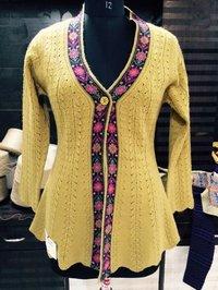 Ladies Woolen Cardigan In Jammu And Kashmir