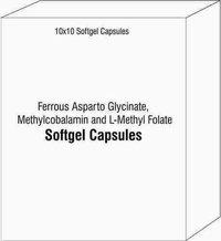 Ferrous Asparto Glycinate Methylcobalamin and L-Methyl Folate