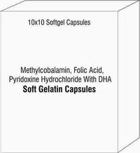 Methylcobalamin Folic Acid Pyridoxine Hydrochloride With DHA Softgel Capsules