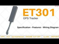Gps tracking device ET301