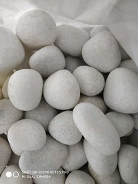 Top Sale White Marble Burnt Dolomite Lumps For Industrial Use