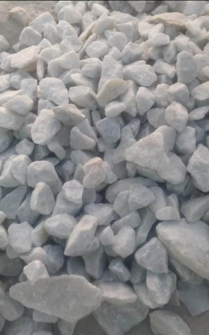 Indian Top Sale White Marble Burnt Dolomite Lumps Raw Material For Industrial Use