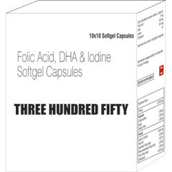 Folic Acid Dha And Iodine Capsules